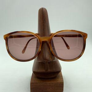 Vintage Universal Honey Brown Round Sunglasses